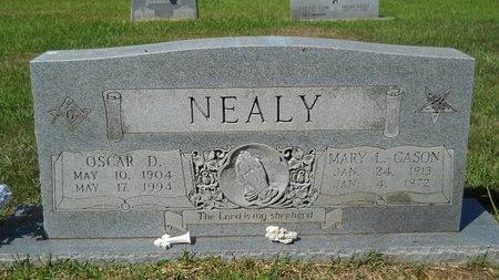 CASON NEALY, MARY L - Webster County, Louisiana | MARY L CASON NEALY - Louisiana Gravestone Photos