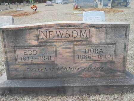 NEWSOM, DORA SUSAN - Webster County, Louisiana | DORA SUSAN NEWSOM - Louisiana Gravestone Photos
