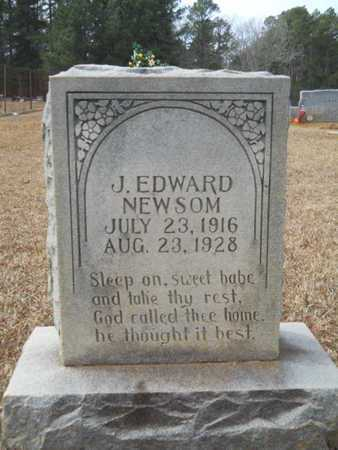 NEWSOM, J EDWARD - Webster County, Louisiana | J EDWARD NEWSOM - Louisiana Gravestone Photos