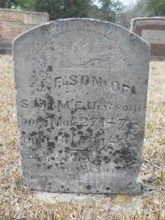 NEWSOM, J F - Webster County, Louisiana | J F NEWSOM - Louisiana Gravestone Photos