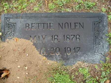 NOLEN, BETTIE - Webster County, Louisiana | BETTIE NOLEN - Louisiana Gravestone Photos