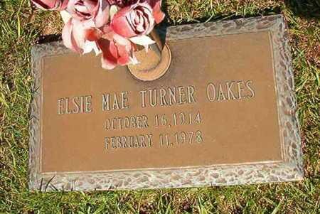 OAKES, ELSIE MAE - Webster County, Louisiana   ELSIE MAE OAKES - Louisiana Gravestone Photos