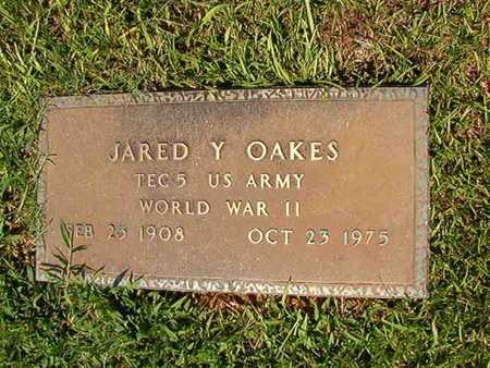 OAKES, JARED Y (VETERAN WWII) - Webster County, Louisiana | JARED Y (VETERAN WWII) OAKES - Louisiana Gravestone Photos