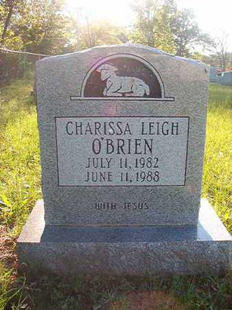 O'BRIEN, CHARISSA LEIGH - Webster County, Louisiana   CHARISSA LEIGH O'BRIEN - Louisiana Gravestone Photos