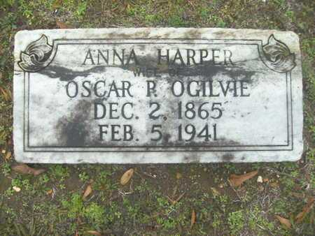 OGILVIE, ANNA - Webster County, Louisiana | ANNA OGILVIE - Louisiana Gravestone Photos