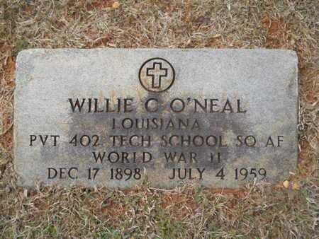 O'NEAL, WILLIE C (VETERAN WWII) - Webster County, Louisiana | WILLIE C (VETERAN WWII) O'NEAL - Louisiana Gravestone Photos