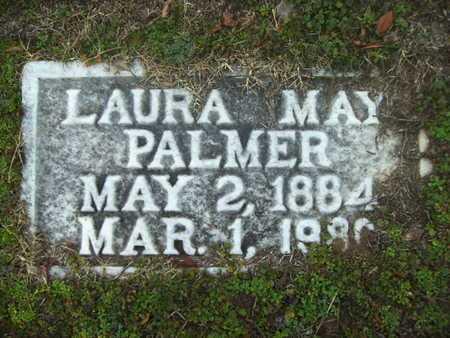 DAWSON PALMER, LAURA MAY - Webster County, Louisiana | LAURA MAY DAWSON PALMER - Louisiana Gravestone Photos