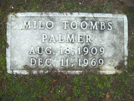 PALMER, MILO TOOMBS - Webster County, Louisiana | MILO TOOMBS PALMER - Louisiana Gravestone Photos