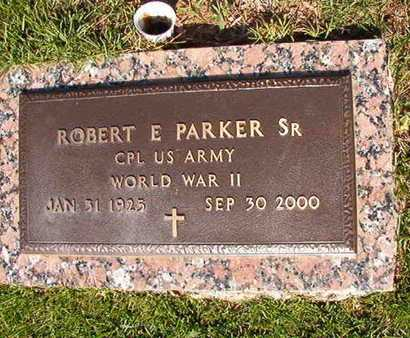 PARKER, ROBERT E, SR (VETERAN WWII) - Webster County, Louisiana | ROBERT E, SR (VETERAN WWII) PARKER - Louisiana Gravestone Photos