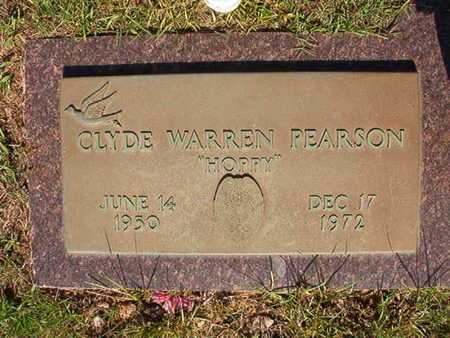 "PEARSON, CLYDE WARREN ""HOPPY"" - Webster County, Louisiana 