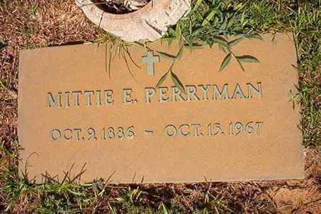 PERRYMAN, MITTIE E - Webster County, Louisiana   MITTIE E PERRYMAN - Louisiana Gravestone Photos