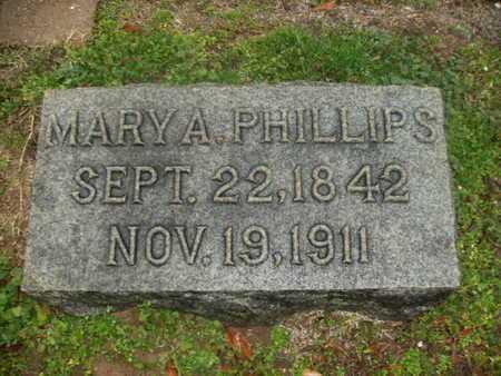 PHILLIPS, MARY A - Webster County, Louisiana | MARY A PHILLIPS - Louisiana Gravestone Photos