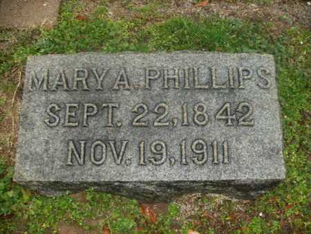 CURRY PHILLIPS, MARY A - Webster County, Louisiana | MARY A CURRY PHILLIPS - Louisiana Gravestone Photos