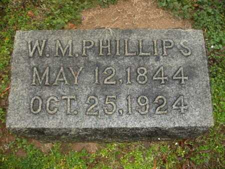 PHILLIPS, W M - Webster County, Louisiana | W M PHILLIPS - Louisiana Gravestone Photos