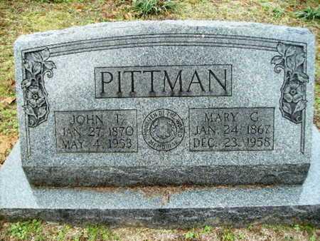 PITTMAN, JOHN T - Webster County, Louisiana | JOHN T PITTMAN - Louisiana Gravestone Photos
