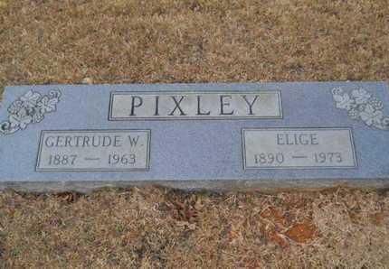PIXLEY, GERTRUDE W - Webster County, Louisiana | GERTRUDE W PIXLEY - Louisiana Gravestone Photos