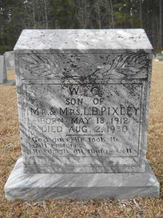 PIXLEY, W C - Webster County, Louisiana | W C PIXLEY - Louisiana Gravestone Photos