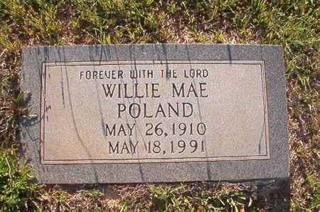 POLAND, WILLIE MAE - Webster County, Louisiana | WILLIE MAE POLAND - Louisiana Gravestone Photos