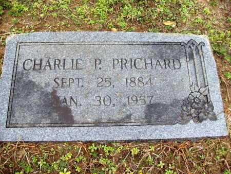 PRICHARD, CHARLIE P - Webster County, Louisiana | CHARLIE P PRICHARD - Louisiana Gravestone Photos