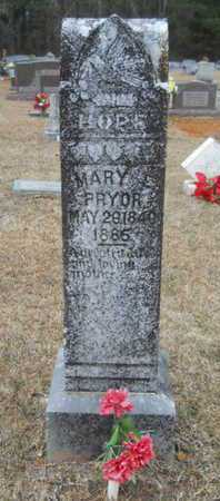 PRYOR, MARY E - Webster County, Louisiana | MARY E PRYOR - Louisiana Gravestone Photos