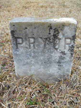 PRYOR, UNKNOWN - Webster County, Louisiana | UNKNOWN PRYOR - Louisiana Gravestone Photos