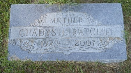 RATCLIFF, GLADYS L - Webster County, Louisiana | GLADYS L RATCLIFF - Louisiana Gravestone Photos