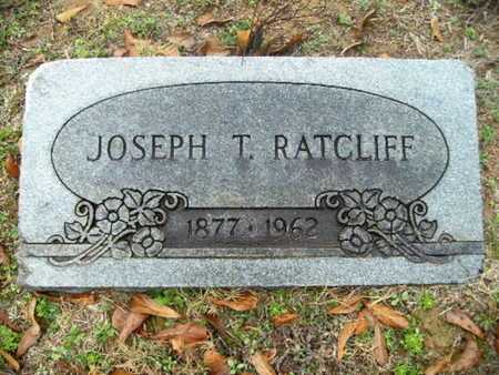 RATCLIFF, JOSEPH T - Webster County, Louisiana | JOSEPH T RATCLIFF - Louisiana Gravestone Photos