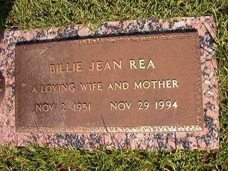 REA, BILLIE JEAN - Webster County, Louisiana   BILLIE JEAN REA - Louisiana Gravestone Photos