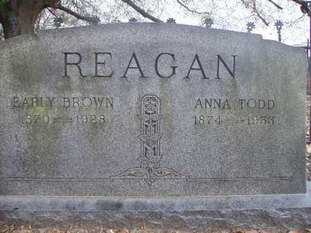TODD REAGAN, ANNA - Webster County, Louisiana   ANNA TODD REAGAN - Louisiana Gravestone Photos