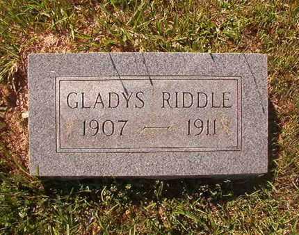 RIDDLE, GLADYS - Webster County, Louisiana | GLADYS RIDDLE - Louisiana Gravestone Photos