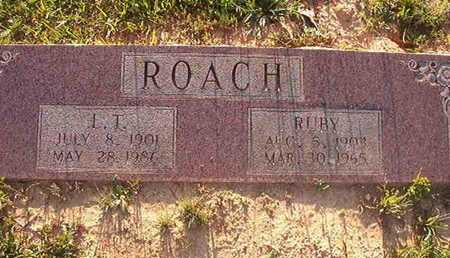 ROACH, L T - Webster County, Louisiana | L T ROACH - Louisiana Gravestone Photos
