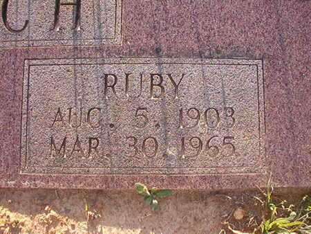 ROACH, RUBY (CLOSE UP) - Webster County, Louisiana   RUBY (CLOSE UP) ROACH - Louisiana Gravestone Photos