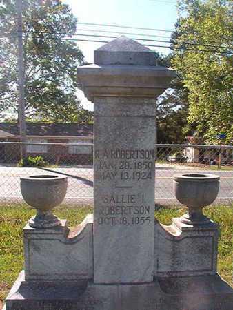 ROBERTSON, R A - Webster County, Louisiana | R A ROBERTSON - Louisiana Gravestone Photos