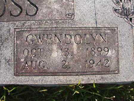 ROSS, GWENDOLYN (CLOSE UP) - Webster County, Louisiana | GWENDOLYN (CLOSE UP) ROSS - Louisiana Gravestone Photos