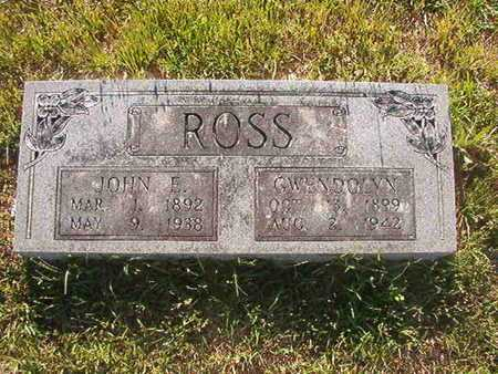 ROSS, JOHN E - Webster County, Louisiana | JOHN E ROSS - Louisiana Gravestone Photos