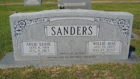 SANDERS, WILLIE MAE - Webster County, Louisiana | WILLIE MAE SANDERS - Louisiana Gravestone Photos