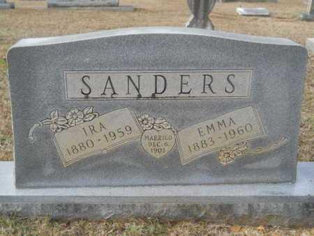 SANDERS, IRA - Webster County, Louisiana | IRA SANDERS - Louisiana Gravestone Photos