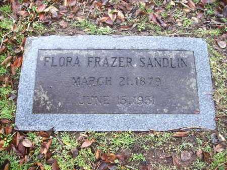 SANDLIN, FLORA - Webster County, Louisiana | FLORA SANDLIN - Louisiana Gravestone Photos