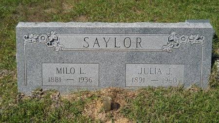 SAYLOR, MILO LORENZO - Webster County, Louisiana | MILO LORENZO SAYLOR - Louisiana Gravestone Photos