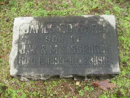 SCRUGGS, JAMES EDWARD - Webster County, Louisiana | JAMES EDWARD SCRUGGS - Louisiana Gravestone Photos