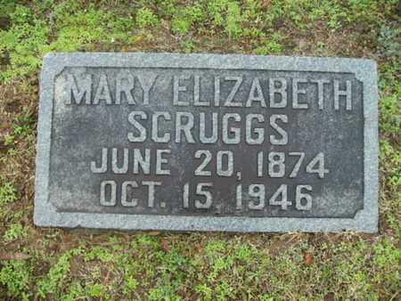 SCRUGGS, MARY ELIZABETH - Webster County, Louisiana | MARY ELIZABETH SCRUGGS - Louisiana Gravestone Photos