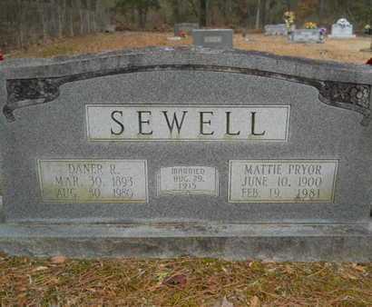 PRYOR SEWELL, MATTIE - Webster County, Louisiana   MATTIE PRYOR SEWELL - Louisiana Gravestone Photos