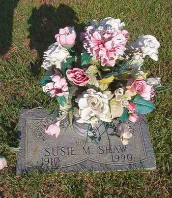 MILLER SHAW, SUSIE - Webster County, Louisiana | SUSIE MILLER SHAW - Louisiana Gravestone Photos