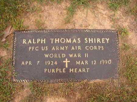 SHIREY, RALPH THOMAS (VETERAN WWII) - Webster County, Louisiana | RALPH THOMAS (VETERAN WWII) SHIREY - Louisiana Gravestone Photos