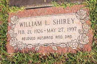 SHIREY, WILLIAM L - Webster County, Louisiana | WILLIAM L SHIREY - Louisiana Gravestone Photos