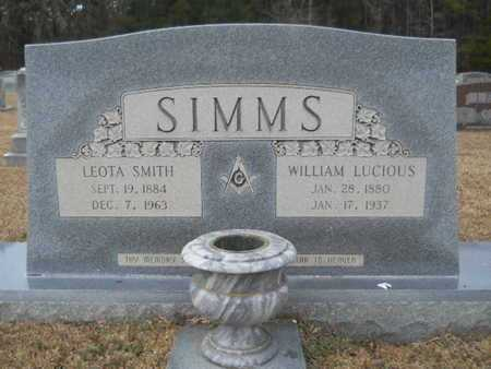 SIMMS, LEOTA - Webster County, Louisiana | LEOTA SIMMS - Louisiana Gravestone Photos