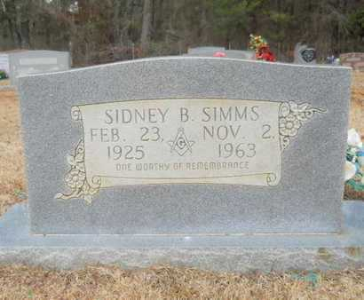 SIMMS, SIDNEY BRITTAIN - Webster County, Louisiana | SIDNEY BRITTAIN SIMMS - Louisiana Gravestone Photos