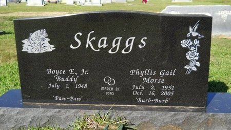 SKAGGS, PHYLLIS GAIL - Webster County, Louisiana | PHYLLIS GAIL SKAGGS - Louisiana Gravestone Photos