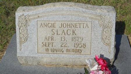 SLACK, ANGIE JOHNETTA - Webster County, Louisiana   ANGIE JOHNETTA SLACK - Louisiana Gravestone Photos