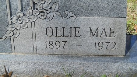 BANDY SLACK, OLLIE MAE (CLOSE UP) - Webster County, Louisiana | OLLIE MAE (CLOSE UP) BANDY SLACK - Louisiana Gravestone Photos